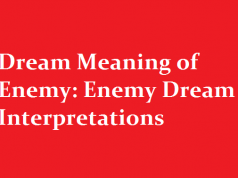 Dream Meaning of Enemy: Enemy Dream Interpretations